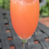 Watermelon-Lime Champagne Cocktails