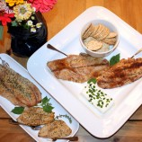 Home-Smoked Bluefish Three Ways