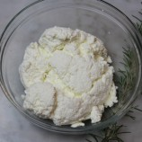 Rosemary-Infused Ricotta Cheese