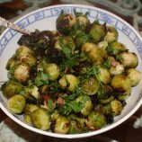 Pancetta Roasted Brussel Sprouts
