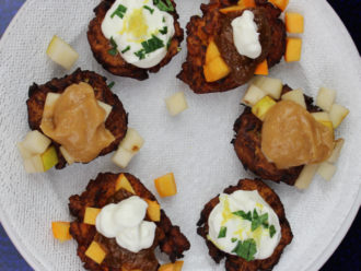 Mashed, Not Grated…A Mashed Root Vegetable Latke Menu…